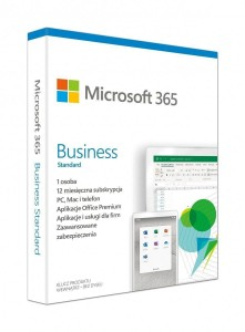 Microsoft 365 Business Standard PL 1 Rok BOX Win/Mac KLQ-00472
