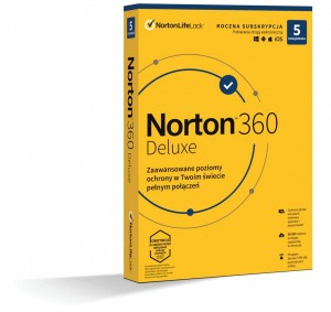 Norton 360 Delux 50GB PL 1 USER 5 DEVICE 1 ROK ESD 21408175