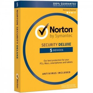 Norton Security Deluxe PL  1 User 5 Device 1 Rok BOX 21357600