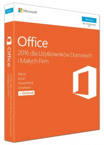 MS Office Home and Business 2016 PL BOX T5D-02786