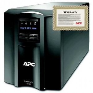 APC Smart-UPS 1000 VA 230V Tower, 6 lat GW, SMT1000I-6W